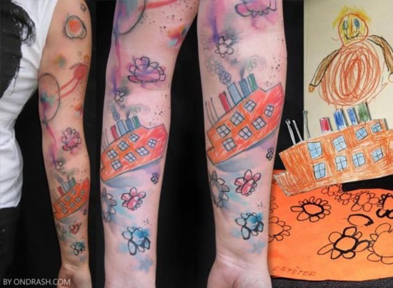 Tatuaże Dla Rodziców Kto Się Nie Dziara Ten Fujara