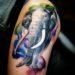 Królowie tatuaży watercolour